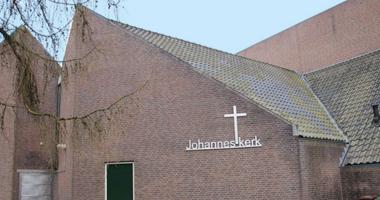 Kerkdienst in de Johanneskerk