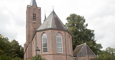 Kerkdienst in de Oude Kerk