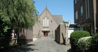 Kerkdienst in de Wilhelminakerk